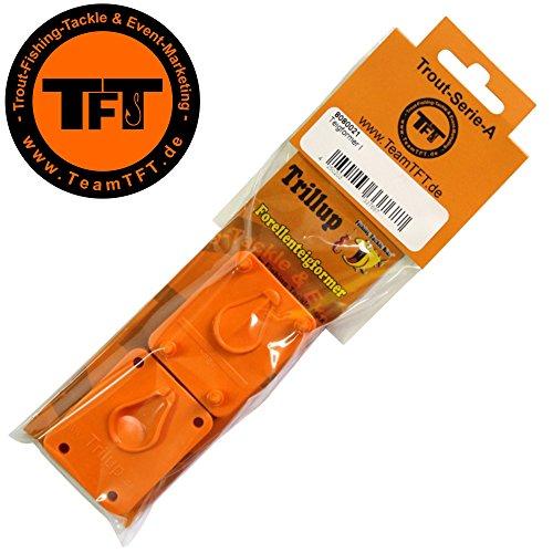 TFT Trilup Forellenteigformer, Teigformer für Forellenteig, Forellenpaste Formen, Forellenangeln