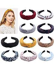 10 stuks elastische hoofdband voor vrouwen hoofdband mode knoop haarband hoofddeksels