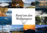 Rund um den Wolfgangsee (Wandkalender 2022 DIN A4 quer): Das Naturparadies im Salzkammergut (Monatskalender, 14 Seiten )
