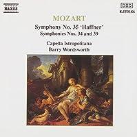 Symphonies 34, 35 & 39