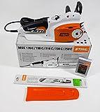 Stihl MSE 210 C-BQ - Sierra eléctrica (2,1 kW, tensión rápida de...