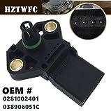 HZTWFC Sensor de mapa de presión de admisión de aire OEM # 0281002401 038906051C