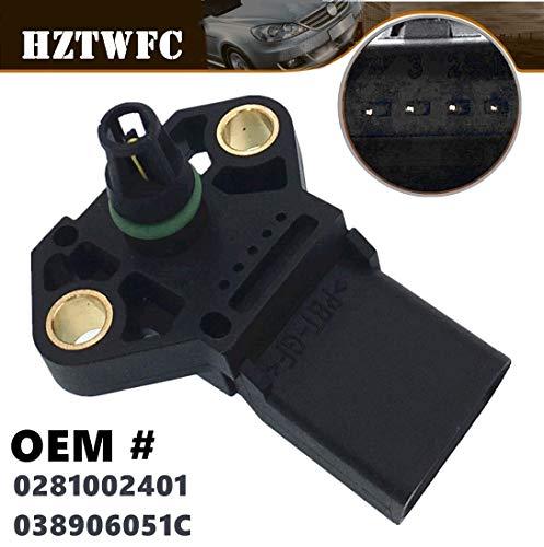 HZTWFC Sensore mappa pressione aspirazione aria OEM # 0281002401 038906051C