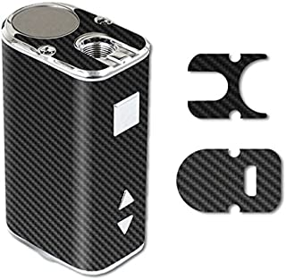 MightySkins Skin Compatible with Eleaf iStick 10W Mini – Carbon Fiber   Protective, Durable, and Unique Vinyl Decal wrap Cover   Easy to Apply, Remove, and Change Styles   Made in The USA