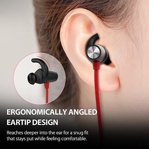 Auriculares Magnéticos dodocool In-ear Cascos Inálambrico Deportivos, Auriculares Bluetooth 4.1 para Running (Resistentes al Sudor, micrófono, CVC 6.0 Cancelación de Ruido,Max Duración de 8 Horas)