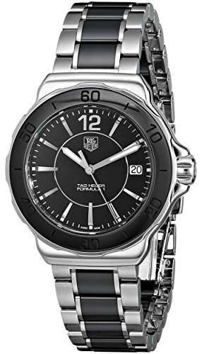 TAG Heuer Formula 1 - Reloj (Reloj de pulsera, Femenino, Acero inoxidable, Negro, Acero inoxidable, Acero inoxidable, Negro, Acero inoxidable)