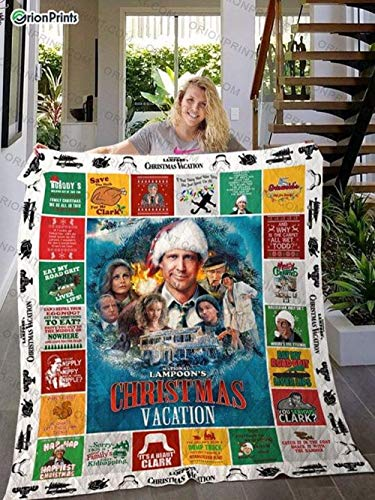 Gifts National Christmas Vacation Cozy Plush Fleece Blanket Size 30x40 inch Gift Family Awesome On Birthday Gift Decor Home