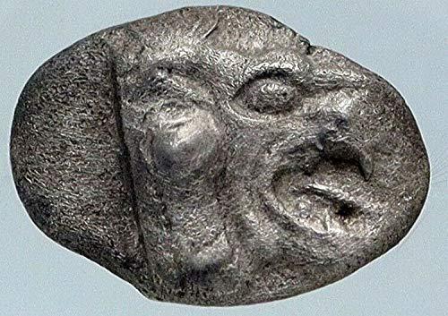 1 GR Chersonesos Caria Authentic Ancient ARCHAIC 500BC Denomination_in_description XF NGC