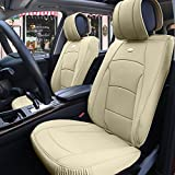 FH Group Ultra Comfort Leatherette Front Seat Cushions (Airbag...