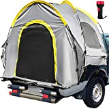 VEVOR Truck Tent 5 Feet Tall Bed, Truck Bed Tent, Pickup Tent for Mid Size Truck, Waterproof Truck Camper, 2-Person Sleeping Capacity, 2 Mesh Windows, Easy To Setup Truck Tents For Camping, Hiking