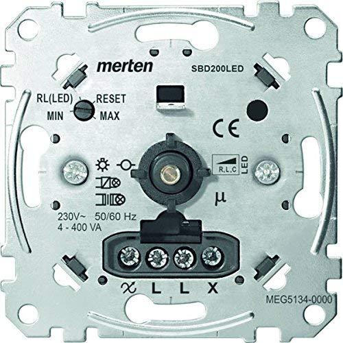 Merten MEG5134-0000 LED-Drehdimmer