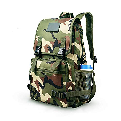 YUMEIGE-Hiking Bags & Packs Backpack Men and women Multifunction Day Backpack Outdoor Sports Backpack Jungle Camouflage Backpack Waterproof Mountaineering Bag 30L for Hiking Backpack Climbing