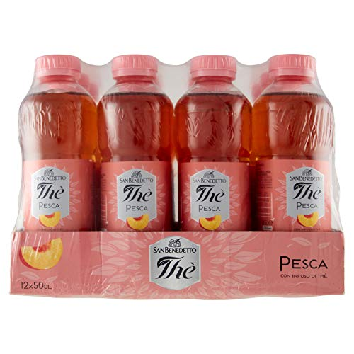 12x San Benedetto The Pesca 'Eistee Pfirsich', 500 ml inkl. Pfand