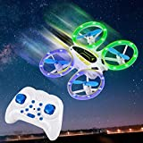 Mini Drone with Altitude Hold and Headless Mode ArgoHome RC Quadcopter with 3D Flips and High Speed Spin Function,Portable Pocket Drone for Kids & Beginners Extra Batteries and Remote Control