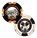 Harley-Davidson Limited Edition Series #3 Poker Chips - 2 Chips Included 6703D
