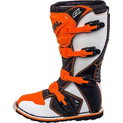 O'Neal Rider Boot MX Stiefel Orange Moto Cross Motorrad Enduro, 0329-3, Größe 43 - 2