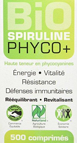 LT LABO Spiruline Bio Phyco+ 500 mg