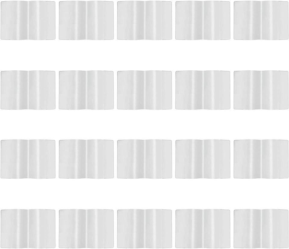 20 Stück Schutzhülle Hülle für den neuen Impfpass Impfbuch Germany Impfbescheinigung Impfausweis für Kinder und Erwachsene Klare Kartenhalter wasserdichte PVC Softcard Hülle (93 mm x 130 mm)