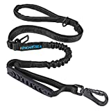 IOKHEIRA 6Ft /4Ft Dog Leash Rope with Comfortable Padded Handle and Highly Reflective Threads for Medium & Large Dogs,4-in-1 Multifunctional Dog Leashes with Car Seat Belt for Training\