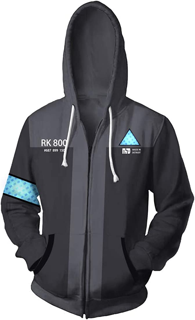 Superlatite Rulercosplay Game Special sale item Hoodie for Detroit Become Cosplay Costum Human