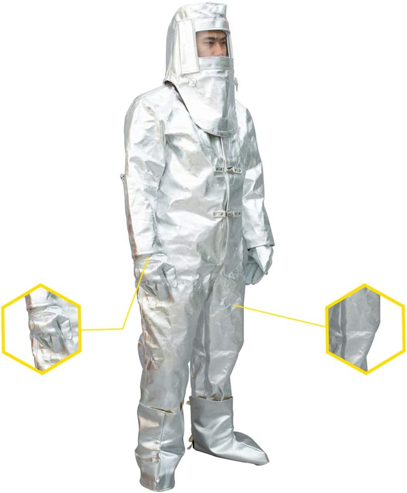 Seasonal Wrap Introduction MXBAOHENG Heat Max 65% OFF Resistant Suit Radiation Anti 1000-1 Thermal