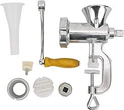 Hachoir à viande manuel, machine de coulée de saucisse de mélangeur de nourriture d'alliage d'aluminium, 17 x 20cm