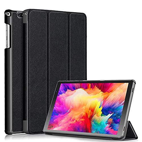 Xuanbeier Funda Compatible con Vankyo S20 10,1pulgadas Tableta con Función Soporte,Negro