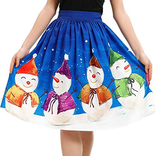 Yazidan Frau BeiläUfig Weihnachten Weihnachtsmann Aufflackern Elastisch Hohe Taille Cosplay Ball Kleid Rock Damen FröHliches Geschenk Petticoat Band Trompete Unterhose FüR Die Hochzeit