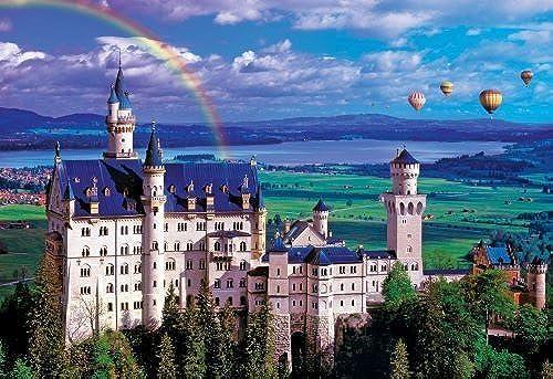 Buffalo Games 2000pc, Summer at Neuschwanstein Castle - 2000pc Jigsaw Puzzle by Buffalo Games by Buffalo Games