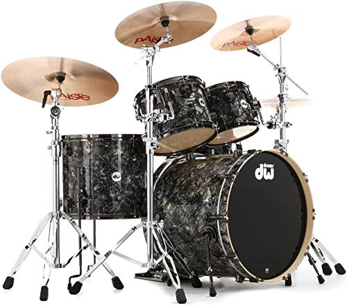 DW Collector S Series FinishPly Shell Pack - 5-Pc - Silver Abalone