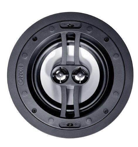 Canton InCeiling 865 DT Deckenlautsprecher (Nenn-/Musikbelastbarkeit: 2x 60/120 Watt) 1 Stück - Weiß