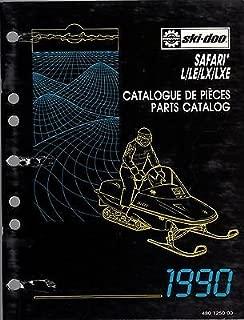 1990 SKI-DOO SNOWMOBILE SAFARI L/LE/LX/LXE PARTS MANUAL P/N 480 1250 00 (250)