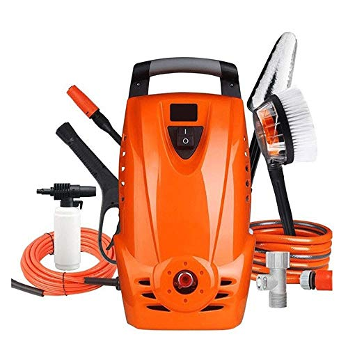 Lowest Prices! CHENNAO Electric Pressure Power Washer with Spray Gun, Adjustable Nozzle, Hose Reel, ...