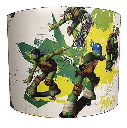DELPH DESIGN LIGHTING LTD 25,5cm Teenage Mutant Ninja Turtles Childrens lampshade for A Table Lamp