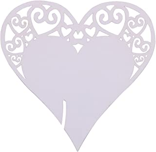 Best heart glass place cards Reviews