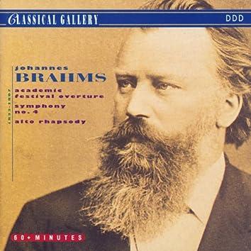 Brahms: Academic Festival Overture, Symphony No .4 in E Minor, Alto Rhapsody