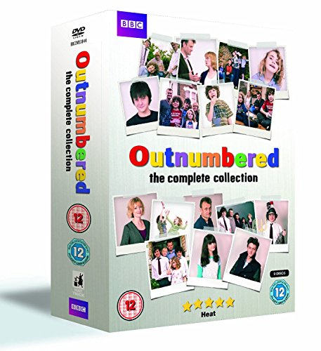 Outnumbered Complete BBC TV Comedy Series (9 Disc) DVD Box Set All 34 Episodes Collection: Series 1, 2, 3, 4, 5 + Christmas Special with loads of extras - Deleted Scenes, Interviews, Featurettes