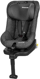 Maxi-Cosi TobiFix Kinderautositz mit Isofix und fünf komfortablen Sitz und Liegepositionen, Gruppe 1 Autositz, Nutzbar ab 9 Monate bis 4 Jahre, nomad black schwarz 9-18 kg