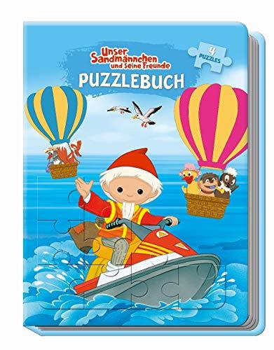 Trötsch Unser Sandmännchen und seine Freunde Puzzlebuch: Beschäftigungsbuch Entdeckerbuch Puzzlebuch
