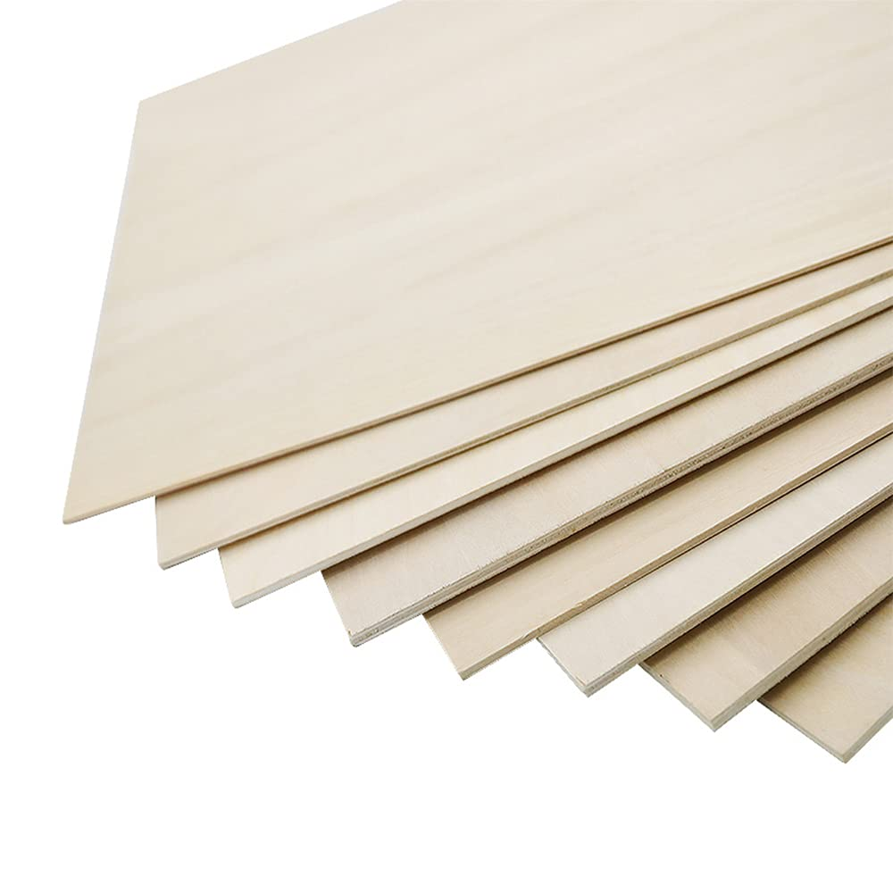TEN-HIGH Plywood Basswood Sheets Wood 2pcs Challenge the lowest price of Japan ☆ Factory outlet Laser Cutter