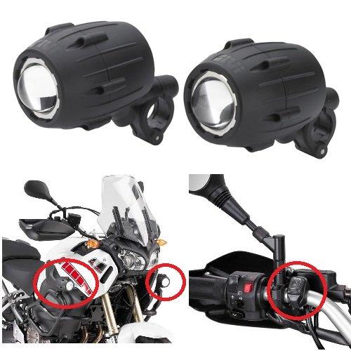 Moto B para Moto S310givi Trekker Lights Ataque Tubular Entre 21y los 25cm homologado E11