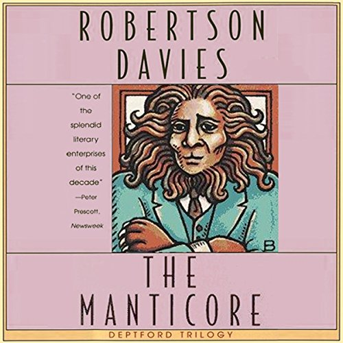 The Manticore audiobook cover art