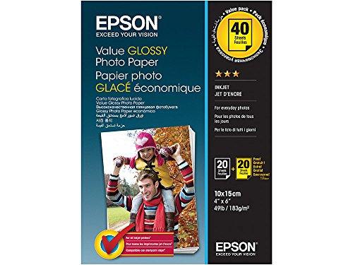 Papel Fotografico Epson 10X15 Marca Epson