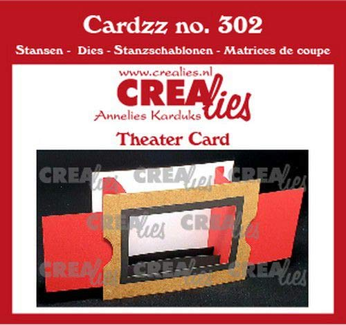 Stanz- und Prägeschablonen - Theater fold card