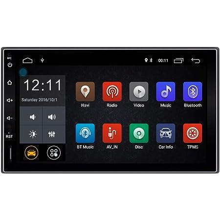 Ezonetronics 2 Din Android Quad Core Autoradio Stereo Elektronik