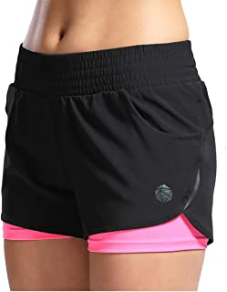 SILIK Womens Sports Gym Shorts Transpirable Entrenamiento Correr Fitness Leggings