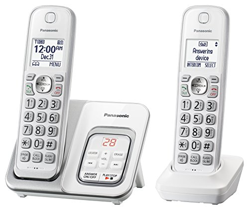 Panasonic DECT 6.0 Expandable Co...