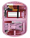 Majik 18 In 1 Manicure and Pedicure Kit for Women And Girls (Pink Color)