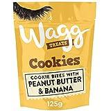 Wagg Burro di Arachidi e Banana Biscotti per cani, 125 g,...