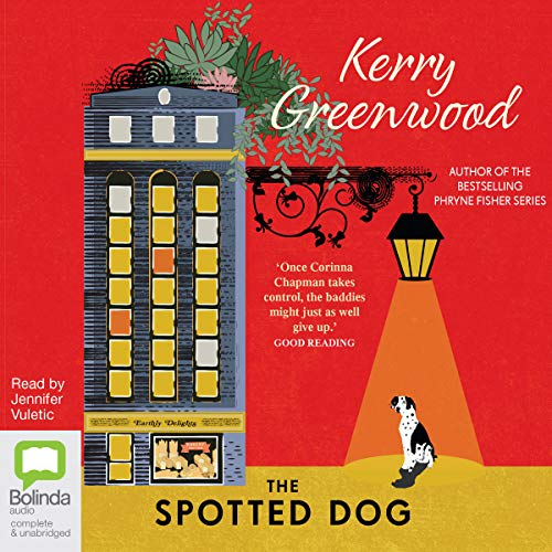 The Spotted Dog audiobook cover art